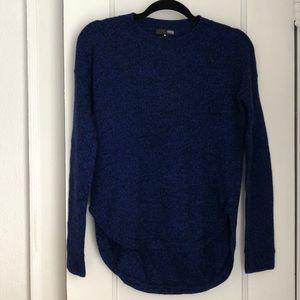 Aqua Black & Blue Marled Sweater